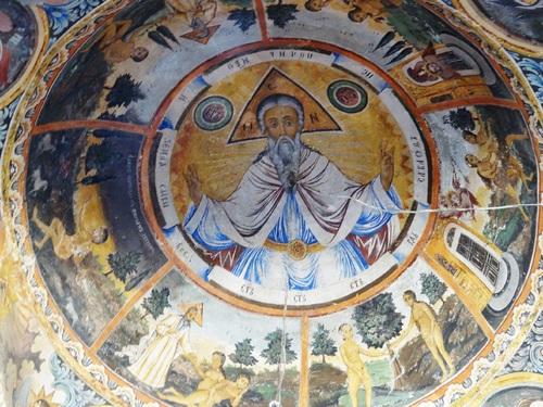 Des fresques du monastère de Trojan  en Bulgarie (photos)