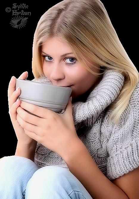 Tubes femmes hiver création 3