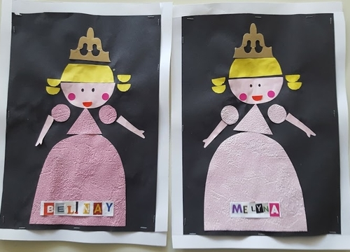 La très grande princesse, reconstitution...