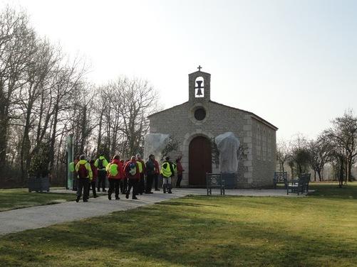 Jeudi - La Jaudonnière, la Chapelle Jean-Paul II