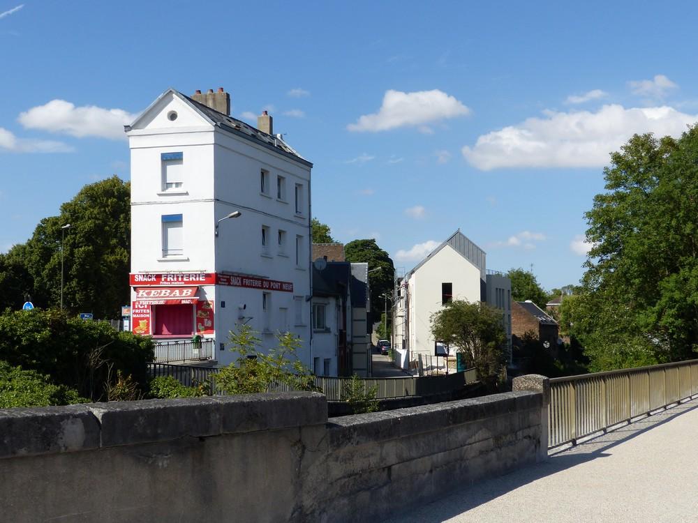 Le charmant quartier St-Maurice