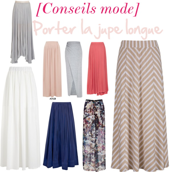[Conseils mode]Porter la jupe longue