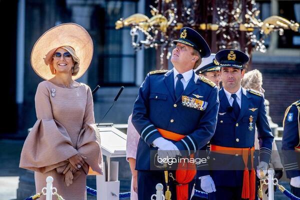 Willem et Maxima à la Haye
