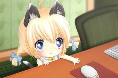 Neko Girl Kawaii 01