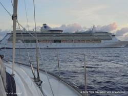 Navigation vers la Martinique