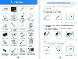 Vocabulaire  C2 - constats, contenu, programmation et matériel