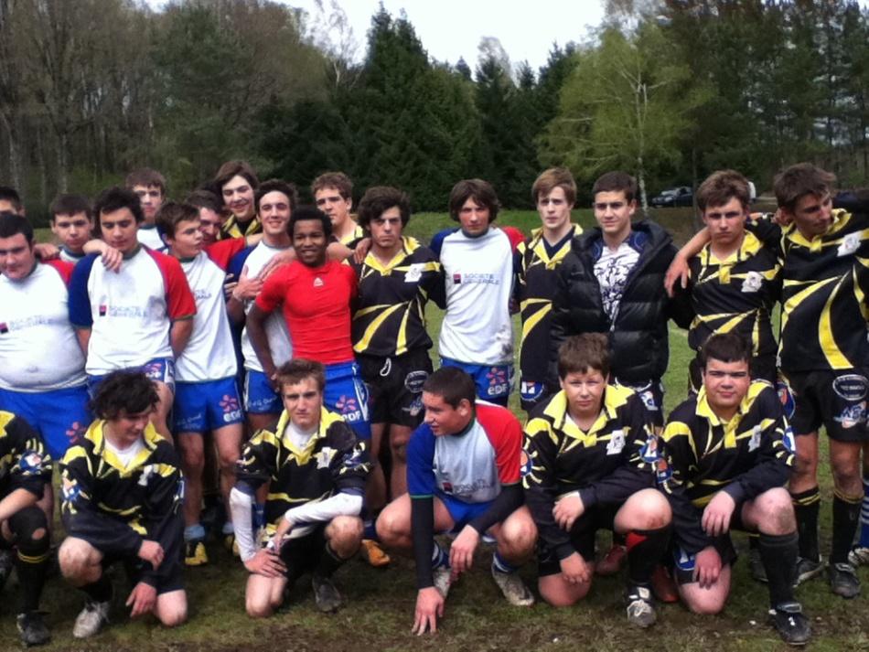 28 avril 2012 : 8° de finale territorial cadets / juniors