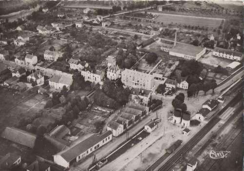 La gare en 1900