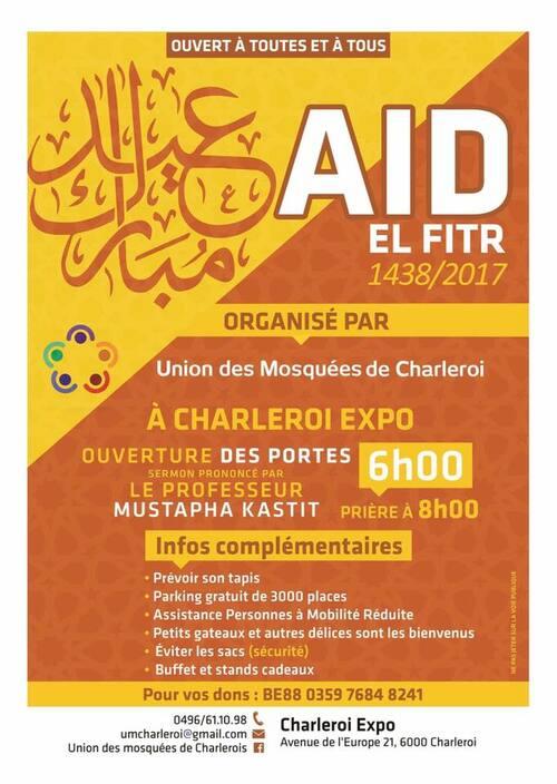Charleroi AïdExdes PMR  (fête de l'Aïd) po2107    Organisation-Animation-Accueil