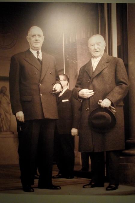 René Drappier s'est rendu à Colombey les deux Eglises...