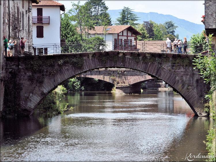 La Nive et ses ponts (Saint Jean Pied de Port)