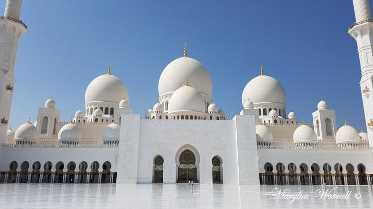 Abu Dhabi : Mosquée du Sheikh Zayed 3/