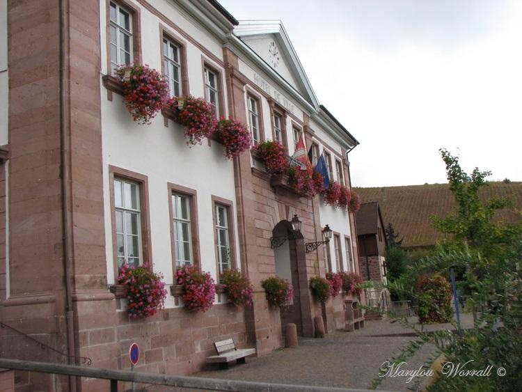 Riquewihr : Inauguration de la Place Claire Jecker