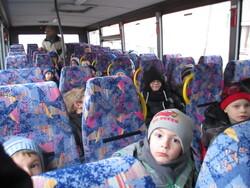 Exercice d'évacuation du bus