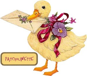 Patchounette canard facteur