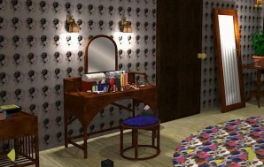 Lucy's boudoir escape