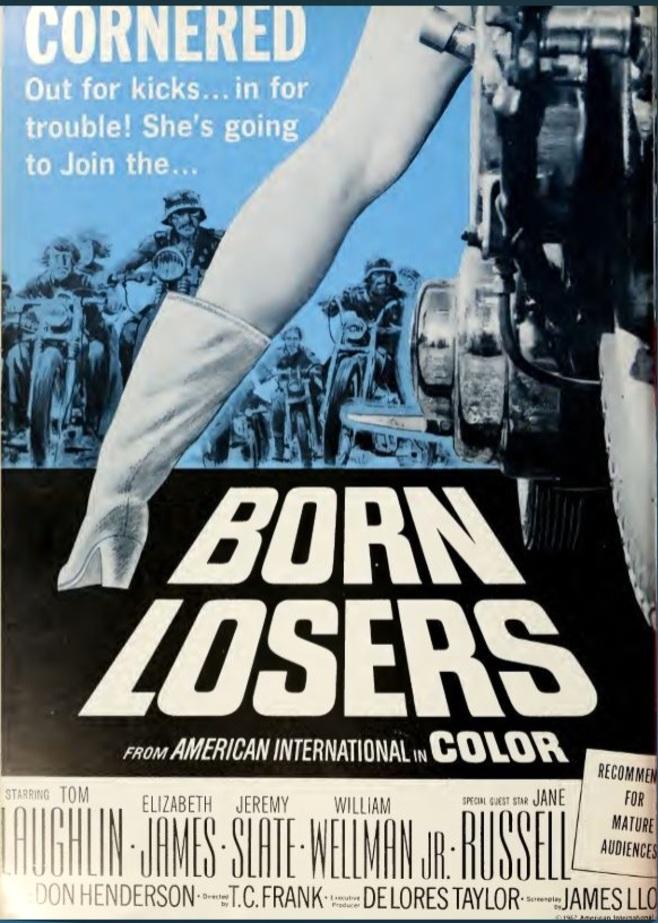 BORN LOSERS BOX OFFICE USA 1967