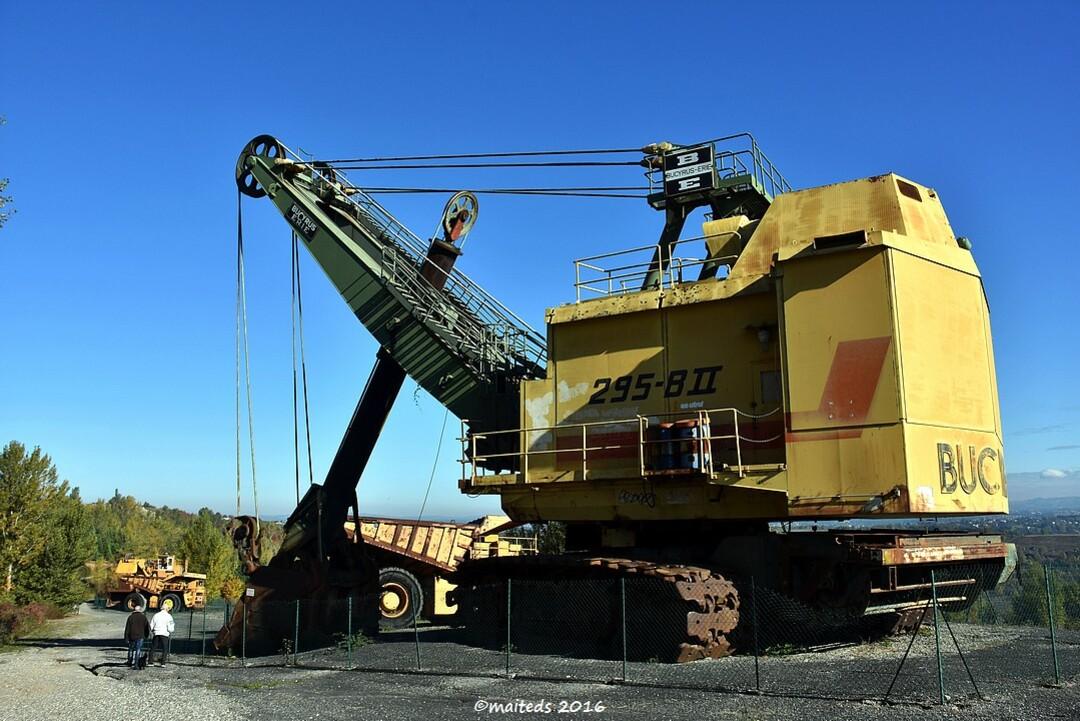 Ancienne mine de charbon - Le Garric (81)