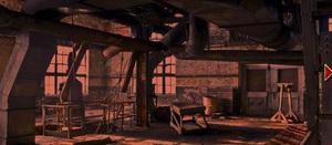 Jouer à Damaged factory escape