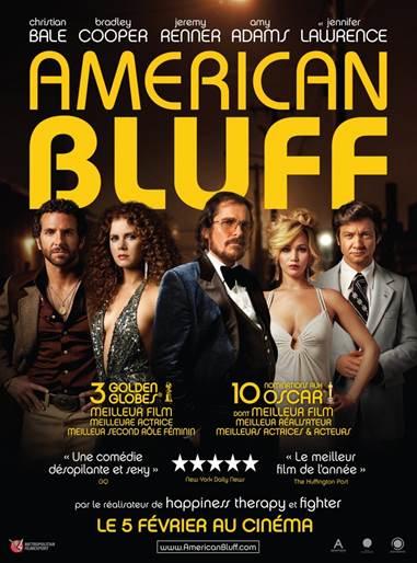 AMERICAN BLUFF, le 05 02 2014 au cinéma ! Retour sur le tapis rouge de l'avant-première en vidéo