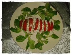 Entrée - tomates/mozarella