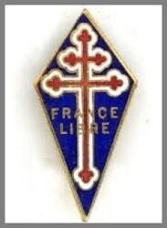 * Page souvenir - Robert Lynen - Résistant  sous lieutenant des Forces Française Libre
