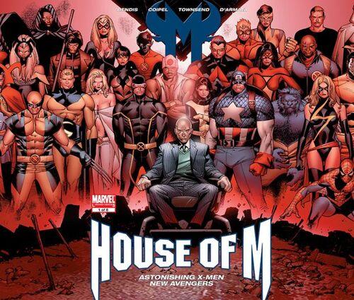 House of M - Le point de départ
