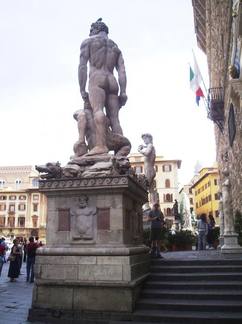 Florence, autour du David et du musée des Offices (photos)