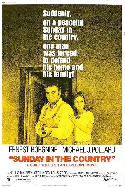 SUNDAY IN THE COUNTRY (SELF DEFENSE) BOX OFFICE USA 1975b