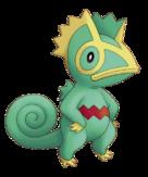 Kecleon Pokémon Donjon Mystère artwork officiel