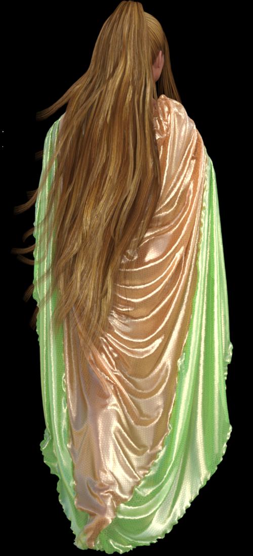 Tube femme de dos (image-render-poser)
