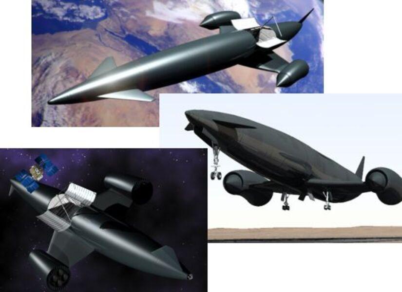 Avions:  Skylon, l'avion supersonique qui vous fera voler à Mach 5