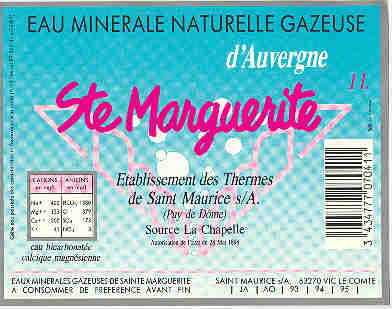 Saint Maurice es Allier, source Sainte Marguerite