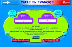 Jeux d'apprentissage en ligne