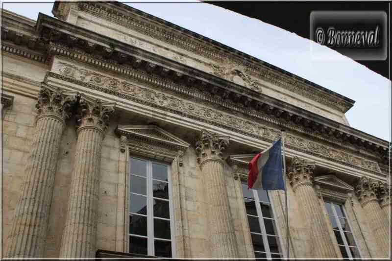 La Rochelle le Palais de Justice