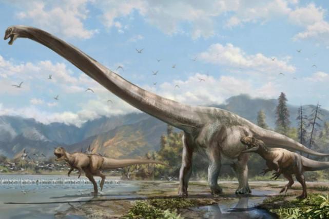 Les dinosaures se battaient pour leur survie plusieurs dizaines de millions... (PHOTO PC)