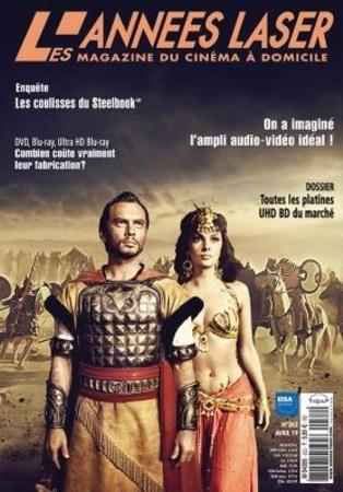 """Les Années Laser N° 262 avril 2019 """"Magazine Cinéma"""""""