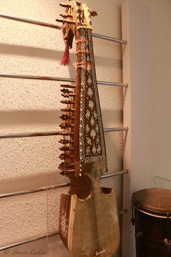 Musée de la musique : les instruments régionaux, Robab, Ispahan