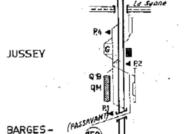 La gare de Jussey, le projet