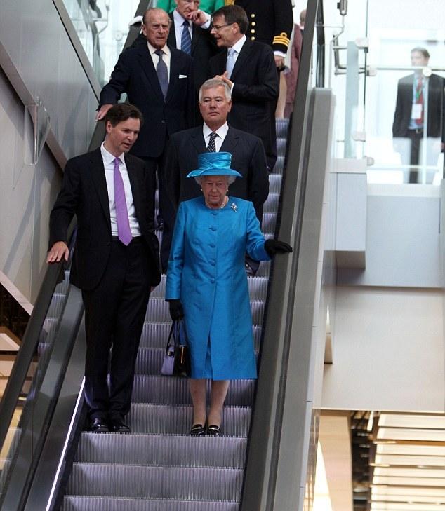 Elizabeth et Philip inaugurent
