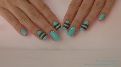 Nail Art bi-matière