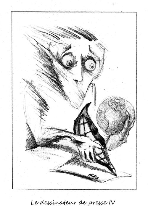 Cartoonists dessinateur de presse Daech 13 novembre rue Bichat