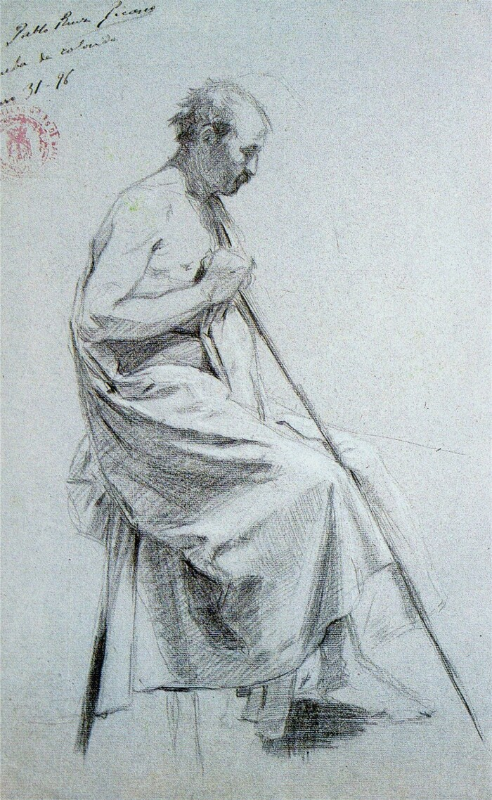"""Picasso / l'enfant qui """"dessinait comme Raphaël"""" !"""