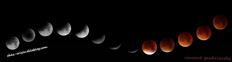 l'éclispe de lune 2015