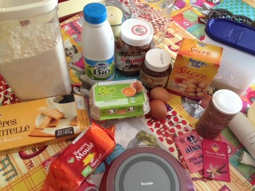 Recette de roulés au Nutella pour les enfants. (et les grands!)