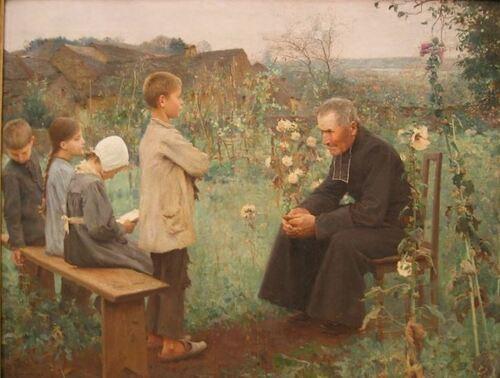 L comme Leçon de cathéchisme