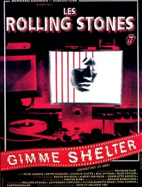 GIMME SHELTER BOX OFFICE FRANCE 1971