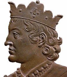 Portrait Roi de france Clotaire III