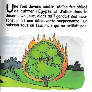 Moïse et le buisson ardent
