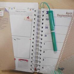 J'ai testé....#1  L'agenda familial Mémoniak